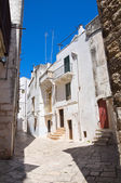 Alleyway. Putignano. Puglia. Italy. — Stock Photo