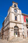 Clocktower. Putignano. Puglia. Italy. — Stock Photo