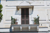 De Nicastro Palace. Manfredonia. Puglia. Italy. — Stock Photo