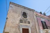 Church of St. Matteo. Manfredonia. Puglia. Italy. — Stock Photo