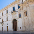 Celestini Palace. Manfredonia. Puglia. Italy. — Stock Photo