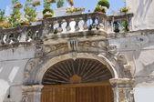 Delli santi palazzo. manfredonia. puglia. italia. — Foto Stock