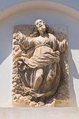 Kirche der Heiligen Maria della Luce. Mattinata. Puglia. Italien. — Stockfoto