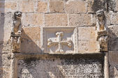 Clocktower. Manfredonia. Puglia. Italy. — Stock Photo