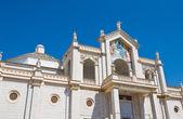 Catedral de manfredonia. puglia. italia. — Foto de Stock