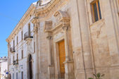 Celestini Palace. Manfredonia. Puglia. Italy. — Stock Photo