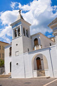 Church of SS. Maria della Luce. Mattinata. Puglia. Italy. — Stock Photo