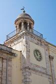 Town hall building. Conversano. Puglia. Italy. — Zdjęcie stockowe