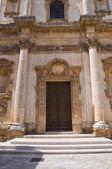 聖アンナ教会メザーニェ。プーリア州。イタリア. — ストック写真
