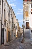 Alleyway. Mesagne. Puglia. Italy. — Stock Photo