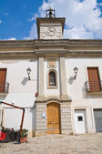 Municipal library. Mesagne. Puglia. Italy. — Stock Photo