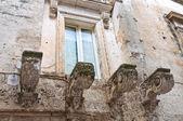 Guarini Palace. Mesagne. Puglia. Italy. — Stock Photo