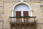 Historical palace. Mesagne. Puglia. Italy. — Stock Photo