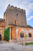 Dentice di Frasso Castle. San Vito dei Normanni. Puglia. Italy. — Stock Photo