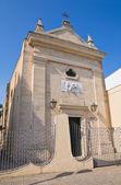 Igreja do crocifisso. mesagne. puglia. itália. — Foto Stock