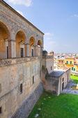 Norman-Swabian Castle. Mesagne. Puglia. Italy. — Stock Photo