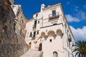 Alleyway. Rodi Garganico. Puglia. Italy. — Foto de Stock