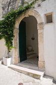 Historical palace. Rodi Garganico. Puglia. Italy. — Stock Photo