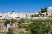 Panoramic view of Monte Sant'Angelo. Puglia. Italy. — Stockfoto