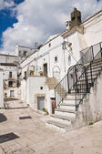 Alleyway. Monte Sant'Angelo. Puglia. Italy. — Photo