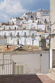 Panoramic view of Monte Sant'Angelo. Puglia. Italy. — Stock Photo