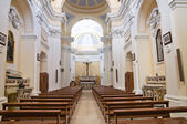 Church of St. Francesco. Monte Sant'Angelo. Puglia. Italy. — Foto de Stock