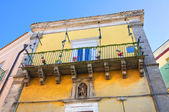 Ciociola palace. Monte Sant'Angelo. Puglia. Italy. — Stockfoto