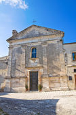 Madonna della Libera Church. Monte Sant'Angelo. Puglia. Italy. — Stock Photo
