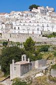 Panoramic view of Monte Sant'Angelo. Puglia. Italy. — ストック写真