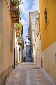 Alleyway. Ischitella. Puglia. Italy. — Stock Photo