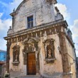 Church of St. Eustachio. Ischitella. Puglia. Italy. — Foto Stock