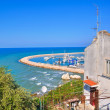 Panoramic view of Rodi Garganico. Puglia. Italy. — Stock Photo
