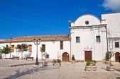 Church of St. Francesco. Ischitella. Puglia. Italy. — Stock Photo
