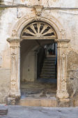 歴史的な宮殿です。ローディ ・ ガルガーニコ。プーリア州。イタリア. — ストック写真
