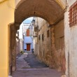 Stock Photo: Alleyway. Manduria. Puglia. Italy.