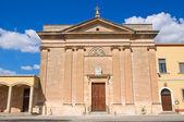 Igreja de sacro cuore. manduria. puglia. itália. — Foto Stock