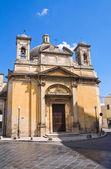 Church of St. Lucia. Manduria. Puglia. Italy. — Stock Photo