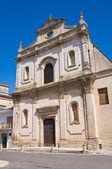 Church of St. Francesco. Manduria. Puglia. Italy. — Stock Photo
