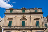 Schiavoni Palace. Manduria. Puglia. Italy. — Stock Photo