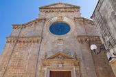 Iglesia de la madre de maruggio. puglia. italia. — Foto de Stock