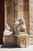 Mother Church of Manduria. Puglia. Italy. — Stock Photo
