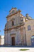 Kościół Santa maria di costantinopoli. Manduria. Puglia. Włochy. — Zdjęcie stockowe