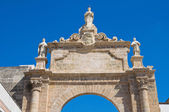 St. Angelo Arch. Manduria. Puglia. Italy. — Stock Photo