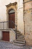 历史的宫殿。曼杜里亚。普利亚大区。意大利. — 图库照片