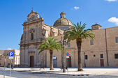 Church of St. Maria di Costantinopoli. Manduria. Puglia. Italy. — Stock Photo