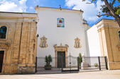 Church of Madonna della Libera. Rodi Garganico. Puglia. Italy. — Stock Photo