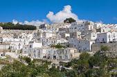 Panoramic view of Monte Sant'Angelo. Puglia. Italy. — Stock Photo