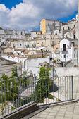 Panoramic view of Monte Sant'Angelo. Puglia. Italy. — Foto de Stock