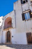 Historical palace. Noci. Puglia. Italy. — Stock Photo