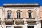 Historical palace. Manduria. Puglia. Italy. — Stock Photo